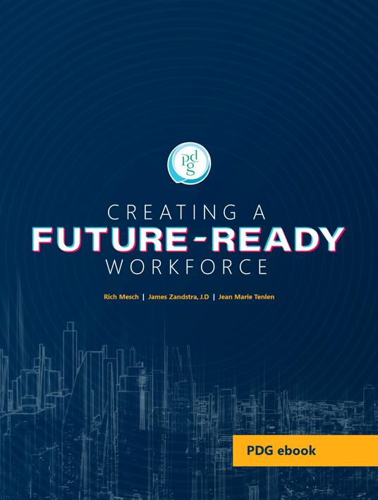 Publication du livre électronique: Créer une main-d'œuvre future