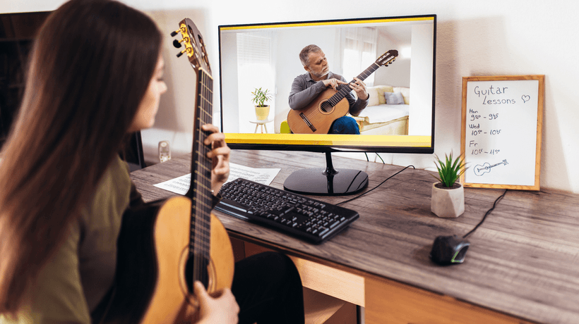 How Is Online Learning Of A Musical Instrument As Effective As Learning In Person